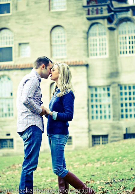 philadelphia couple engagement photograph